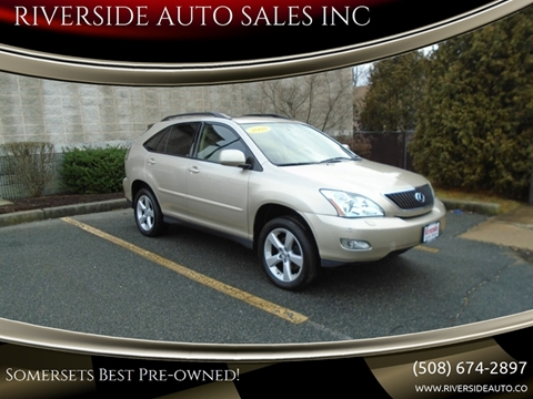 2004 Lexus RX 330 for sale at RIVERSIDE AUTO SALES INC in Somerset MA
