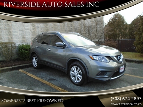 2016 Nissan Rogue for sale at RIVERSIDE AUTO SALES INC in Somerset MA