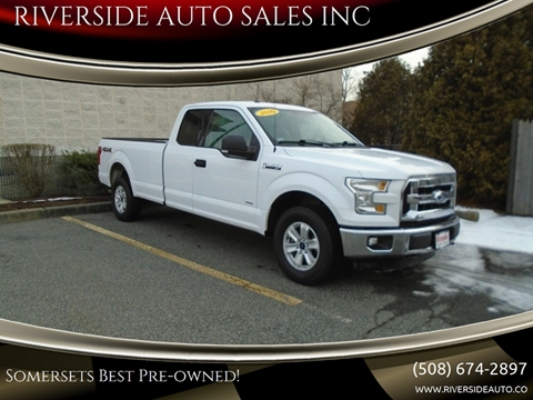 2016 Ford F-150 for sale at RIVERSIDE AUTO SALES INC in Somerset MA