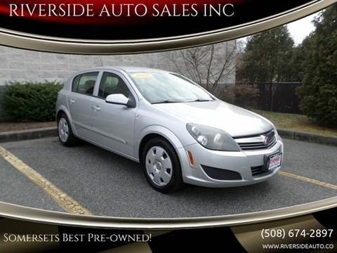 2008 Saturn Astra for sale at RIVERSIDE AUTO SALES INC in Somerset MA