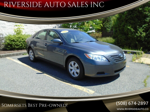 2007 Toyota Camry for sale at RIVERSIDE AUTO SALES INC in Somerset MA
