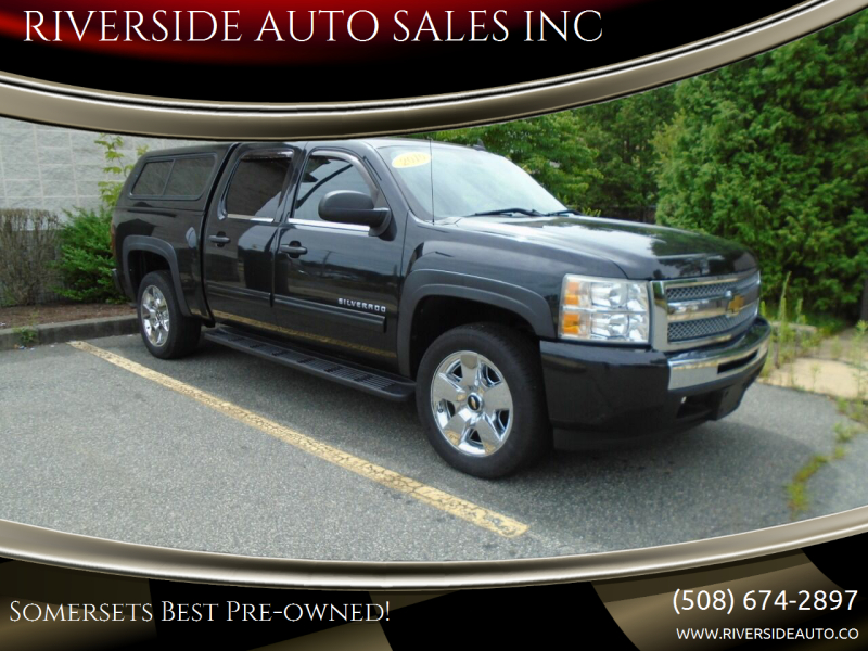 2010 Chevrolet Silverado 1500 for sale at RIVERSIDE AUTO SALES INC in Somerset MA