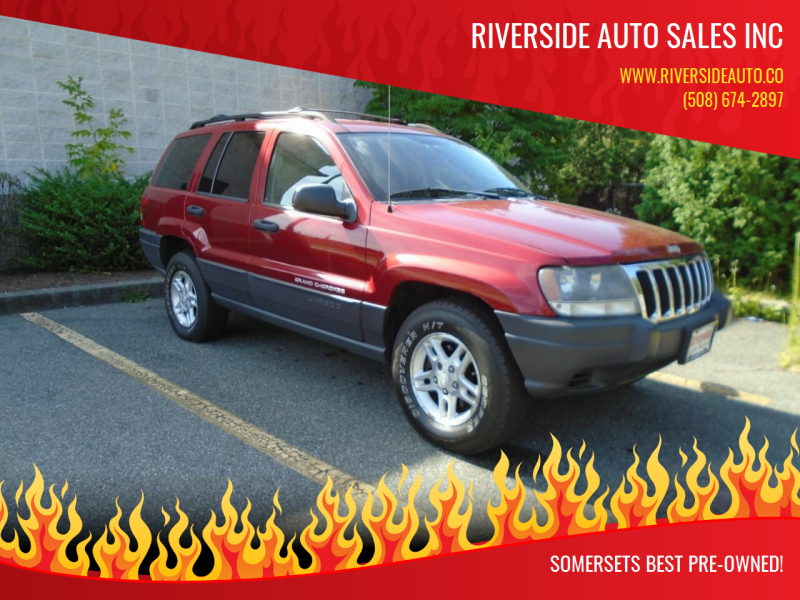 2003 Jeep Grand Cherokee for sale at RIVERSIDE AUTO SALES INC in Somerset MA