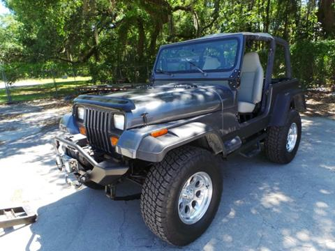 1993 Jeep Wrangler for sale in Perry, FL