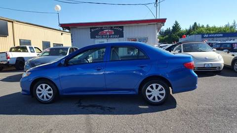 2010 Toyota Corolla for sale at RAMSAY MOTORS LLC in Hillsboro OR