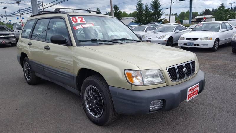 2002 Subaru Forester for sale at RAMSAY MOTORS LLC in Hillsboro OR
