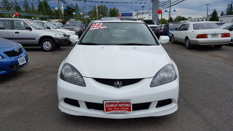 2006 Acura RSX for sale at RAMSAY MOTORS LLC in Hillsboro OR