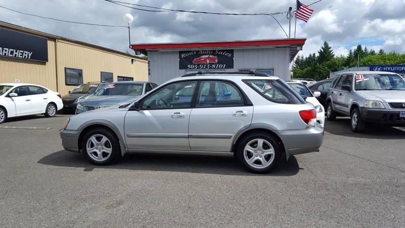 2004 Subaru Impreza for sale at RAMSAY MOTORS LLC in Hillsboro OR