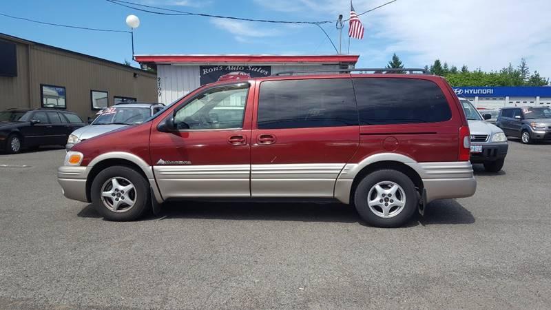 2001 Pontiac Montana for sale at RAMSAY MOTORS LLC in Hillsboro OR