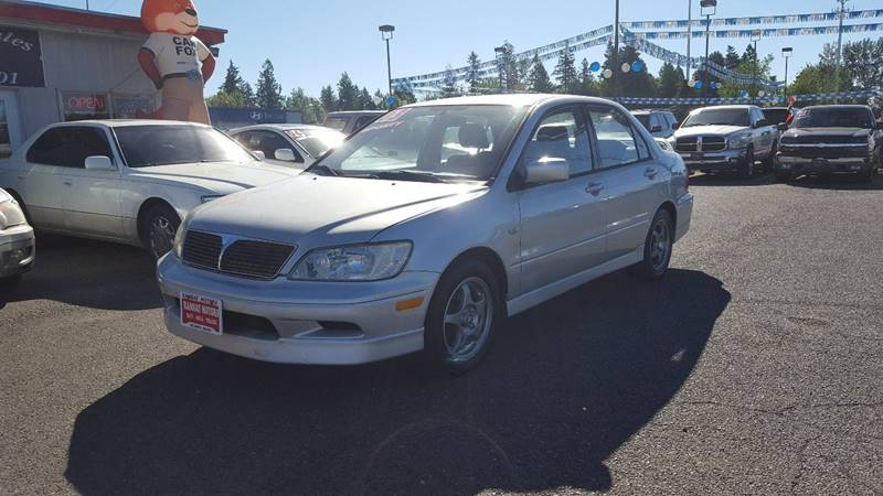 2003 Mitsubishi Lancer for sale at RAMSAY MOTORS LLC in Hillsboro OR