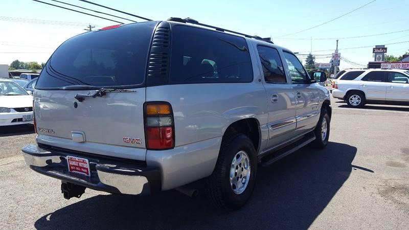 2005 GMC Yukon XL for sale at RAMSAY MOTORS LLC in Hillsboro OR