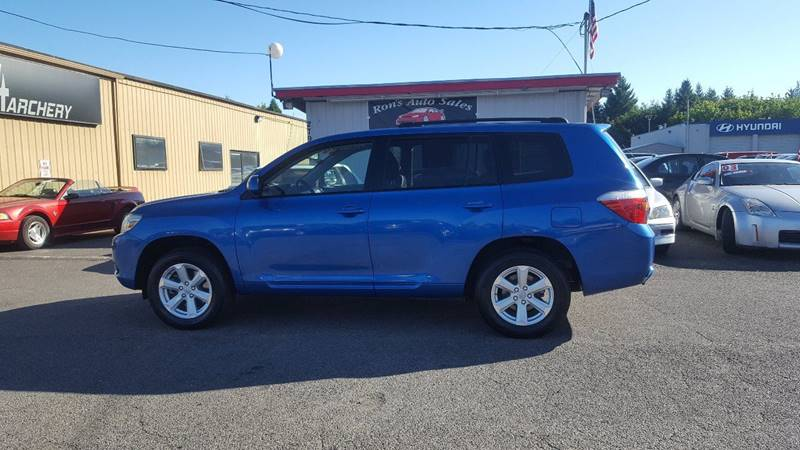 2008 Toyota Highlander for sale at RAMSAY MOTORS LLC in Hillsboro OR
