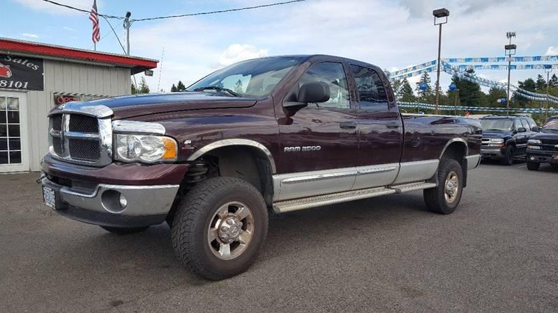 2005 Dodge Ram Pickup 2500 for sale at RAMSAY MOTORS LLC in Hillsboro OR