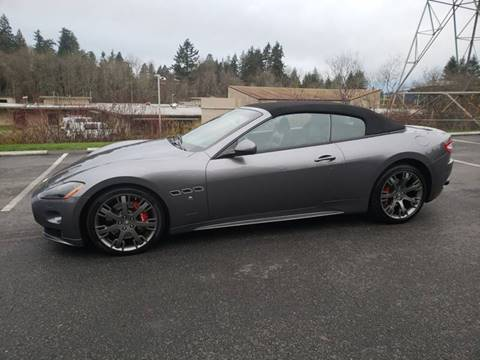 2012 Maserati GranTurismo for sale at Painlessautos.com in Bellevue WA