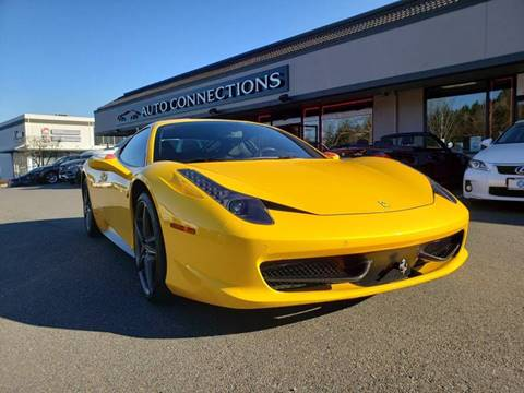 2012 Ferrari 458 Italia for sale at Painlessautos.com in Bellevue WA