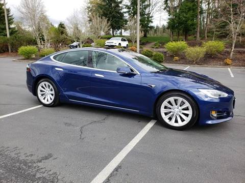 2016 Tesla Model S for sale at Painlessautos.com in Bellevue WA
