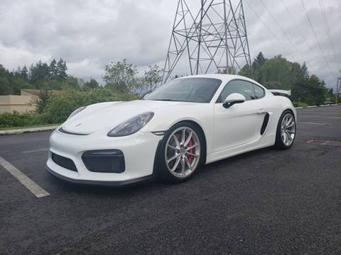 2016 Porsche Cayman for sale at Painlessautos.com in Bellevue WA
