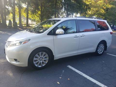 2015 Toyota Sienna for sale at Painlessautos.com in Bellevue WA