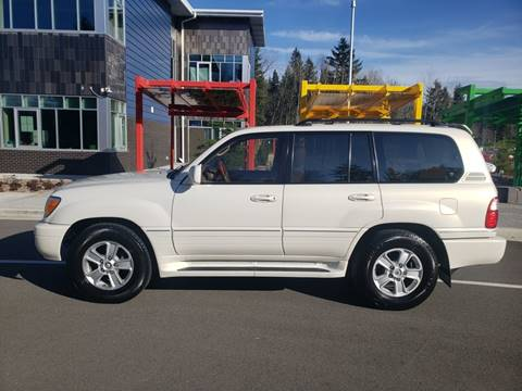 2001 Lexus LX 470 for sale at Painlessautos.com in Bellevue WA