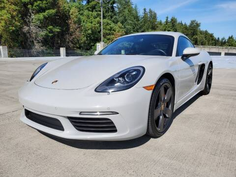 2018 Porsche 718 Cayman for sale at Painlessautos.com in Bellevue WA