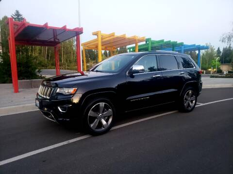 2015 Jeep Grand Cherokee for sale at Painlessautos.com in Bellevue WA