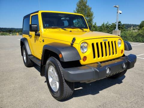 2011 Jeep Wrangler for sale at Painlessautos.com in Bellevue WA