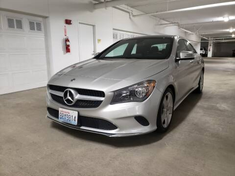 2018 Mercedes-Benz CLA for sale at Painlessautos.com in Bellevue WA