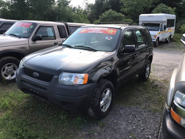 2004 ford escape xls 4wd 4dr suv in johnstown ny. Black Bedroom Furniture Sets. Home Design Ideas