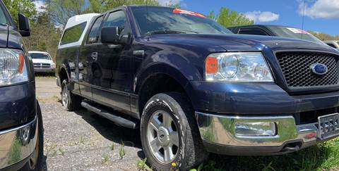 2004 Ford F-150 for sale at GLOVECARS.COM LLC in Johnstown NY