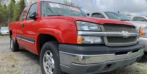 2004 Chevrolet Silverado 1500 for sale at GLOVECARS.COM LLC in Johnstown NY