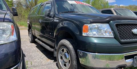2006 Ford F-150 for sale at GLOVECARS.COM LLC in Johnstown NY