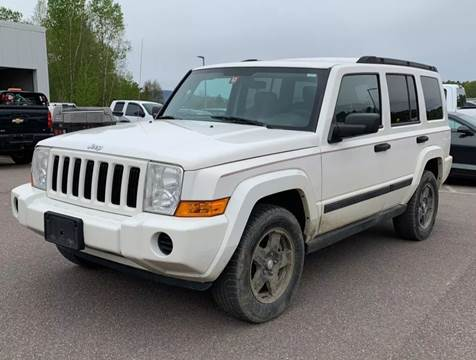 2006 Jeep Commander for sale at GLOVECARS.COM LLC in Johnstown NY