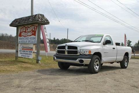 2004 Dodge Ram Pickup 1500 for sale in Johnstown, NY