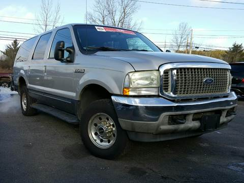 2002 Ford Excursion for sale at GLOVECARS.COM LLC in Johnstown NY