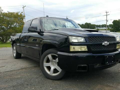 2004 Chevrolet Silverado 1500 SS for sale at GLOVECARS.COM LLC in Johnstown NY