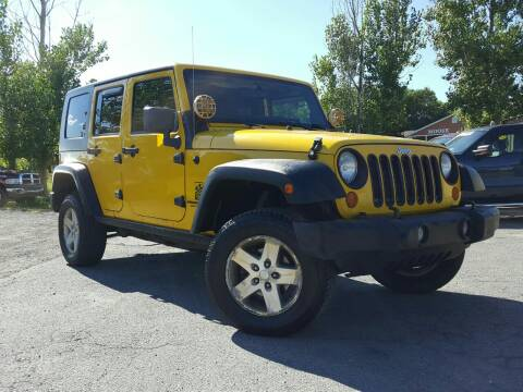2008 Jeep Wrangler Unlimited for sale at GLOVECARS.COM LLC in Johnstown NY