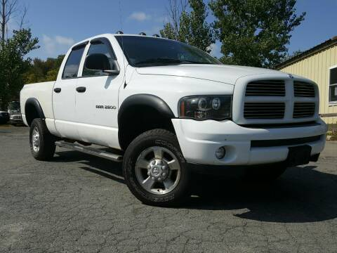 2003 Dodge Ram Pickup 2500 for sale at GLOVECARS.COM LLC in Johnstown NY
