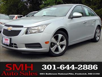 2011 Chevrolet Cruze for sale in Frederick, MD