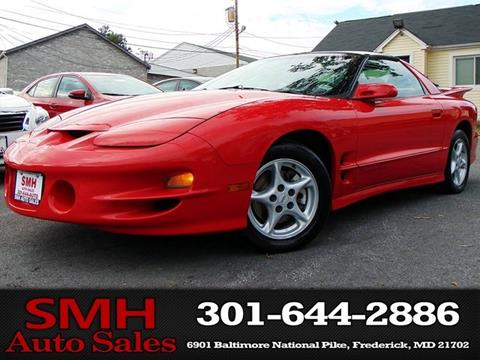 1998 Pontiac Firebird for sale in Frederick, MD