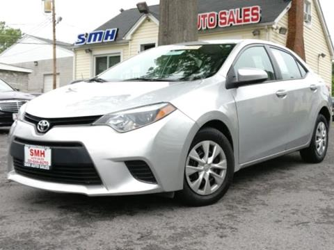 2014 Toyota Corolla for sale in Frederick, MD
