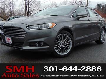 2014 Ford Fusion for sale in Frederick, MD