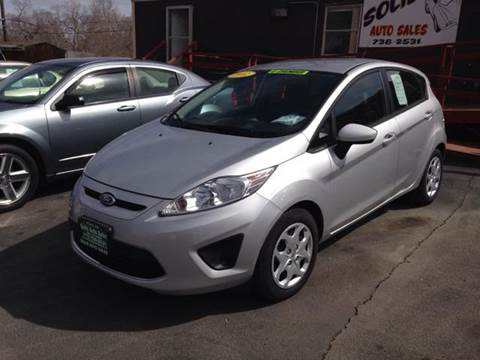 2012 Ford Fiesta for sale at SOLIS AUTO SALES INC in Elko NV