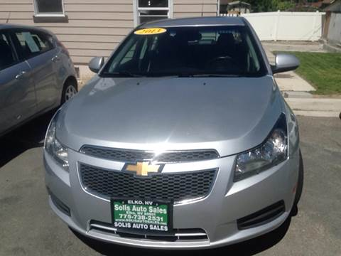 2013 Chevrolet Cruze for sale at SOLIS AUTO SALES INC in Elko NV