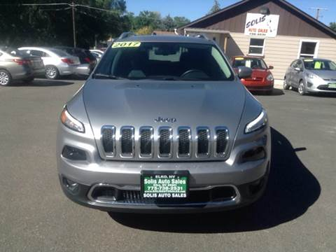 2017 Jeep Cherokee for sale at SOLIS AUTO SALES INC in Elko NV