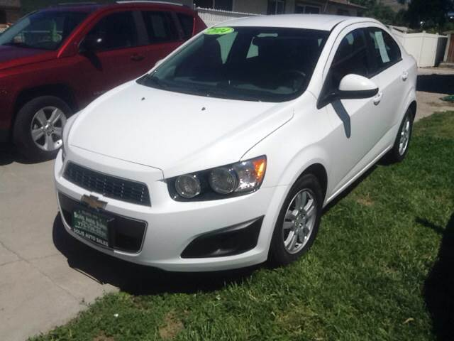 2014 Chevrolet Sonic for sale at SOLIS AUTO SALES INC in Elko NV