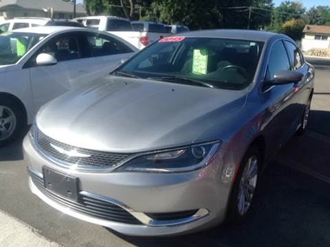 2015 Chrysler 200 for sale at SOLIS AUTO SALES INC in Elko NV