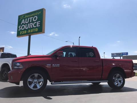 2014 RAM Ram Pickup 1500 for sale at Premier Auto Source INC in Terre Haute IN