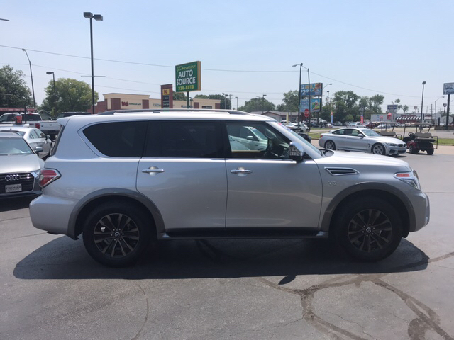 2017 Nissan Armada for sale at Premier Auto Source INC in Terre Haute IN