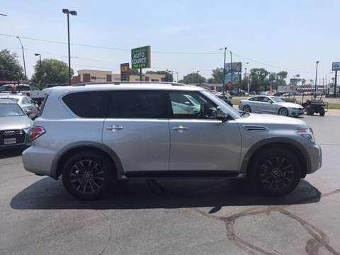 2017 Nissan Armada for sale at Premier Auto Source INC in Terre Haute IN