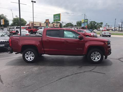 2018 Chevrolet Colorado for sale at Premier Auto Source INC in Terre Haute IN